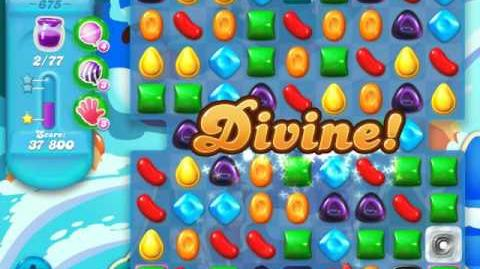 Candy Crush Soda Saga Level 675 (nerfed)