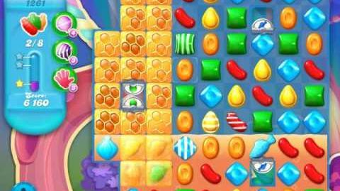 Candy Crush Soda Saga Level 1261 (2nd nerfed)