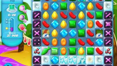 Candy Crush Soda Saga Level 719 (4th version, 3 Stars)