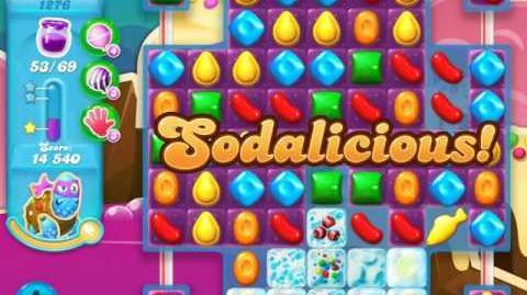 Candy Crush Soda Saga Level 1276 (buffed)