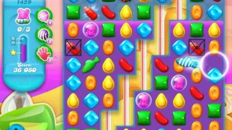 Candy Crush Soda Saga Level 1429 (buffed, 3 Stars)