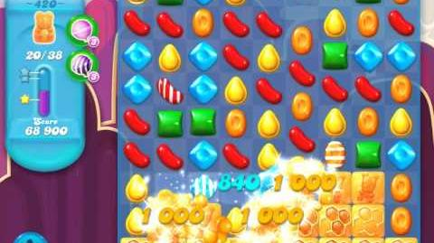 Candy Crush Soda Saga Level 420 (3 Stars)