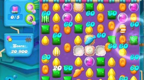 Candy Crush Soda Saga Level 60 (nerfed, 3 Stars)