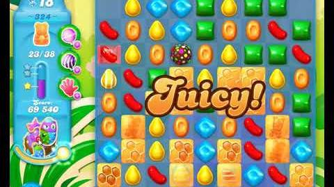 Candy Crush Friends Group SODA Level 324 3Stars Update 291017