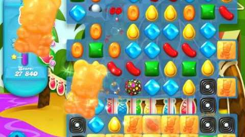 Candy Crush Soda Saga Level 725 (4th version, 3 Stars)