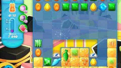 Candy Crush Soda Saga Level 971 (buffed, 3 Stars)