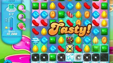 Candy Crush Soda Saga Level 1318 (4th version, 3 Stars)