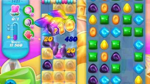 Candy Crush Soda Saga Level 1421