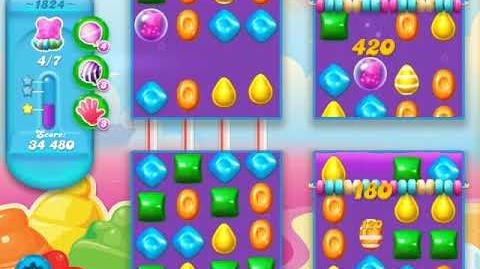 Candy Crush Soda Saga Level 1824 (buffed)