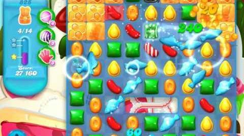 Candy Crush Soda Saga Level 825 (5th version, 3 Stars)