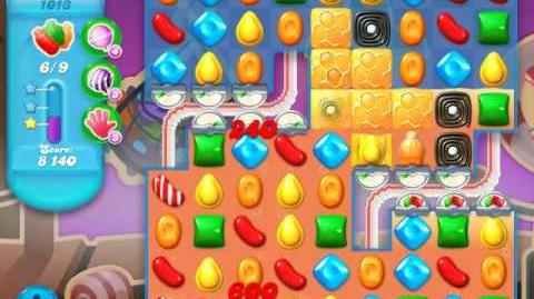 Candy Crush Soda Saga Level 1013 (2nd buffed, 3 Stars)