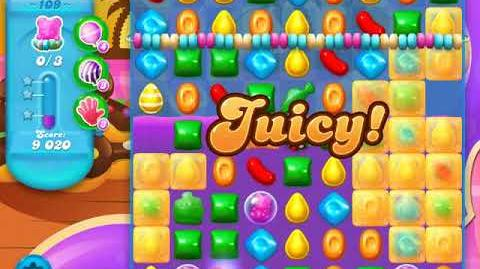 Candy Crush Soda Saga Level 109 (4th version, 3 Stars)