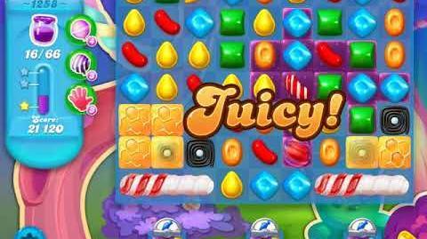 Candy Crush Soda Saga Level 1258 (3rd version)
