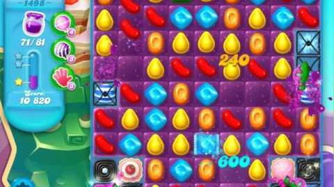Candy Crush Soda Saga Level 1498 (buffed, 3 Stars)