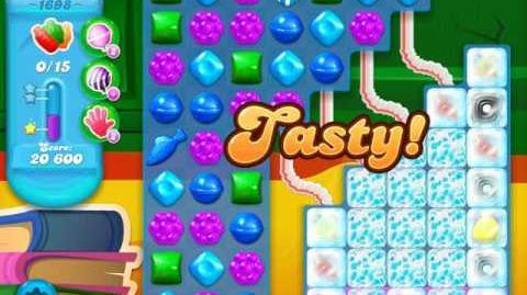 Candy Crush Soda Saga Level 1698