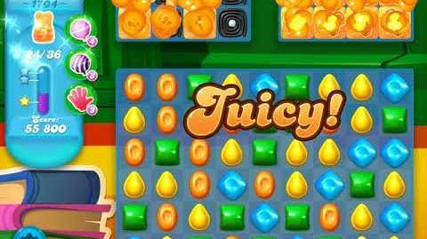 Candy Crush Soda Saga Level 1704 (buffed)