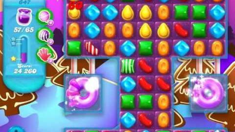 Candy Crush Soda Saga Level 647 (buffed)