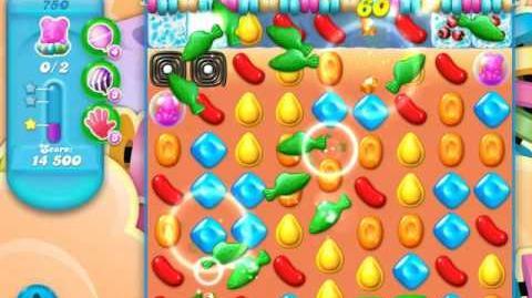 Candy Crush Soda Saga Level 750 (3rd version)