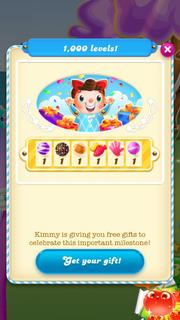 1000 levels reward