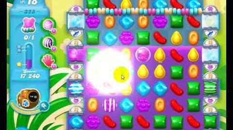 Candy Crush Friends Group SODA Level 328 2Stars 1st Update 291017
