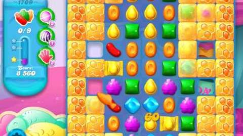 Candy Crush Soda Saga Level 1709 (3 Stars)