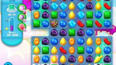 Candy Crush Soda Saga Level 370 (6th version, 3 Stars)