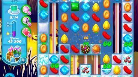 Candy Crush Soda Saga Level 475 (5th version, 3 Stars)
