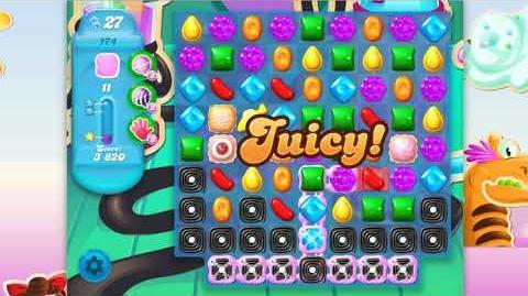 Candy Crush Soda Saga - Level 174 - No boosters