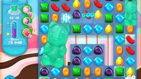 Candy Crush Soda Saga Level 389 (2nd nerfed, 3 Stars)