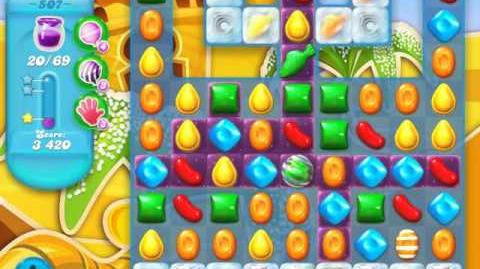 Candy Crush Soda Saga Level 507 (nerfed, 3 Stars)