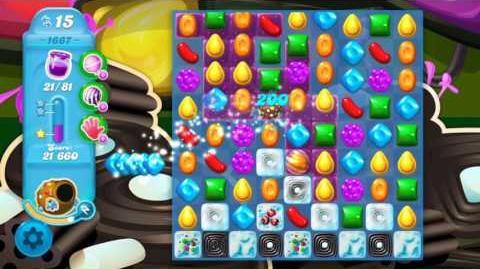 Candy Crush Soda Saga Level 1667 (3 Stars)