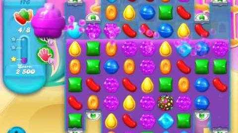 Candy Crush Soda Saga Level 176 (nerfed, 3 Stars)