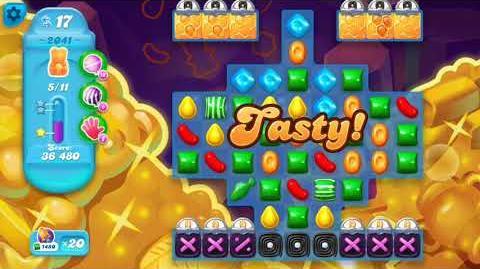 Candy Crush Soda Saga Level 2041