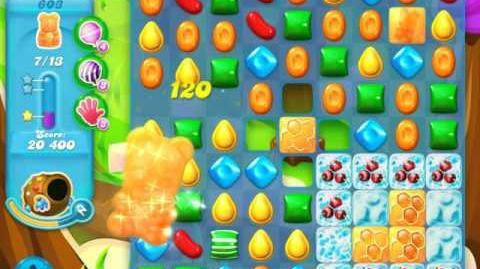 Candy Crush Soda Saga Level 603 (2nd nerfed)
