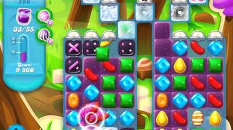 Candy Crush Soda Saga Level 599 (3 Stars)