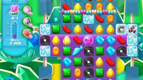 Candy Crush Soda Saga Level 989 (9th version)