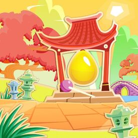 Sugary Zen Garden background