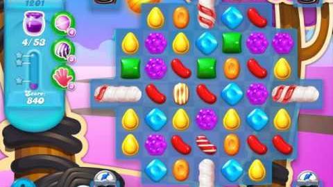 Candy Crush Soda Saga Level 1201 (3 Stars)