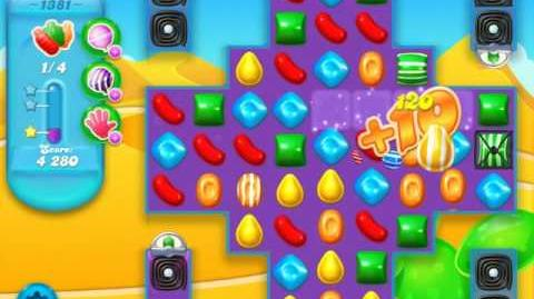 Candy Crush Soda Saga Level 1381