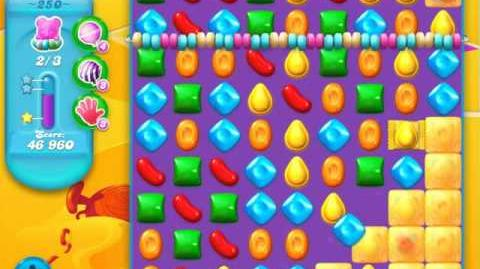 Candy Crush Soda Saga Level 250 (2nd nerfed, 3 Stars)