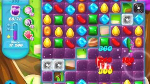 Candy Crush Soda Saga Level 595 (4th version, 3 Stars)