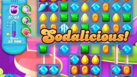 Candy Crush Soda Saga Level 1251