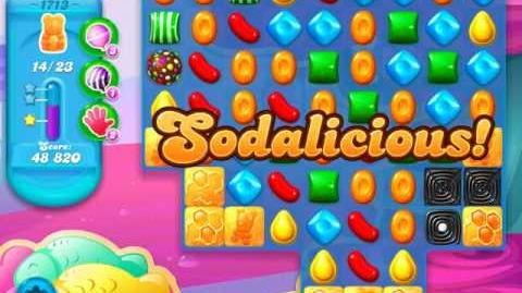 Candy Crush Soda Saga Level 1713 (3 Stars)