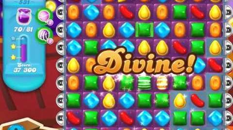 Candy Crush Soda Saga Level 531 (3 Stars)