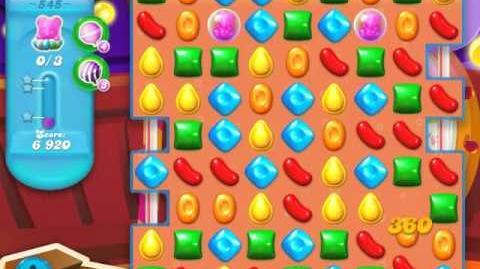 Candy Crush Soda Saga Level 545 (2nd nerfed)