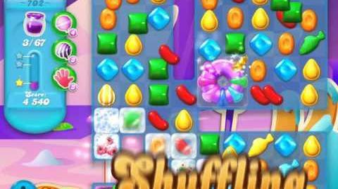 Candy Crush Soda Saga Level 702 (2nd buffed, 3 Stars)