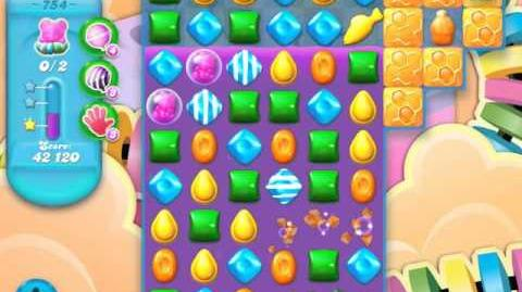 Candy Crush Soda Saga Level 754 (3 Stars)