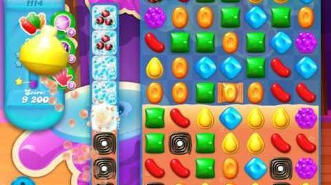 Candy Crush Soda Saga Level 1114 (nerfed, 3 Stars)