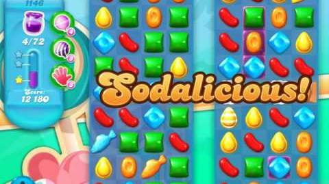 Candy Crush Soda Saga Level 1146 (buffed, 3 Stars)