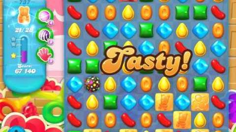 Candy Crush Soda Saga Level 737 (buffed, 3 Stars)